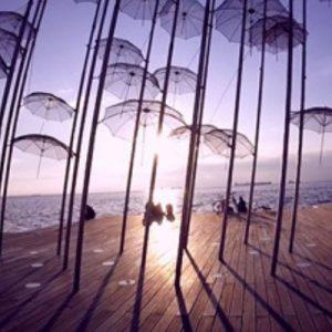 umbrellas thessaloniki