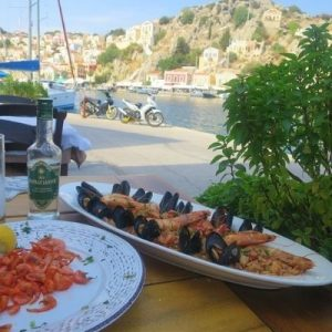 food tour in symi