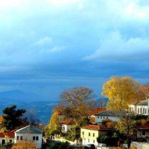 Pelion villlage in Greece